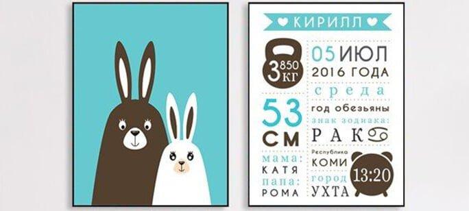 Постер для детей Минск