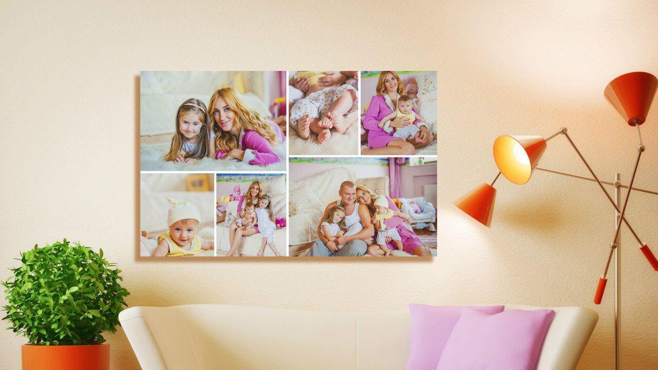 Печать коллажа из ваших фотографий