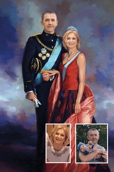 Портрет в историческом образе по фото