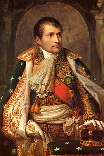 Портрет в образе Наполеона по фото
