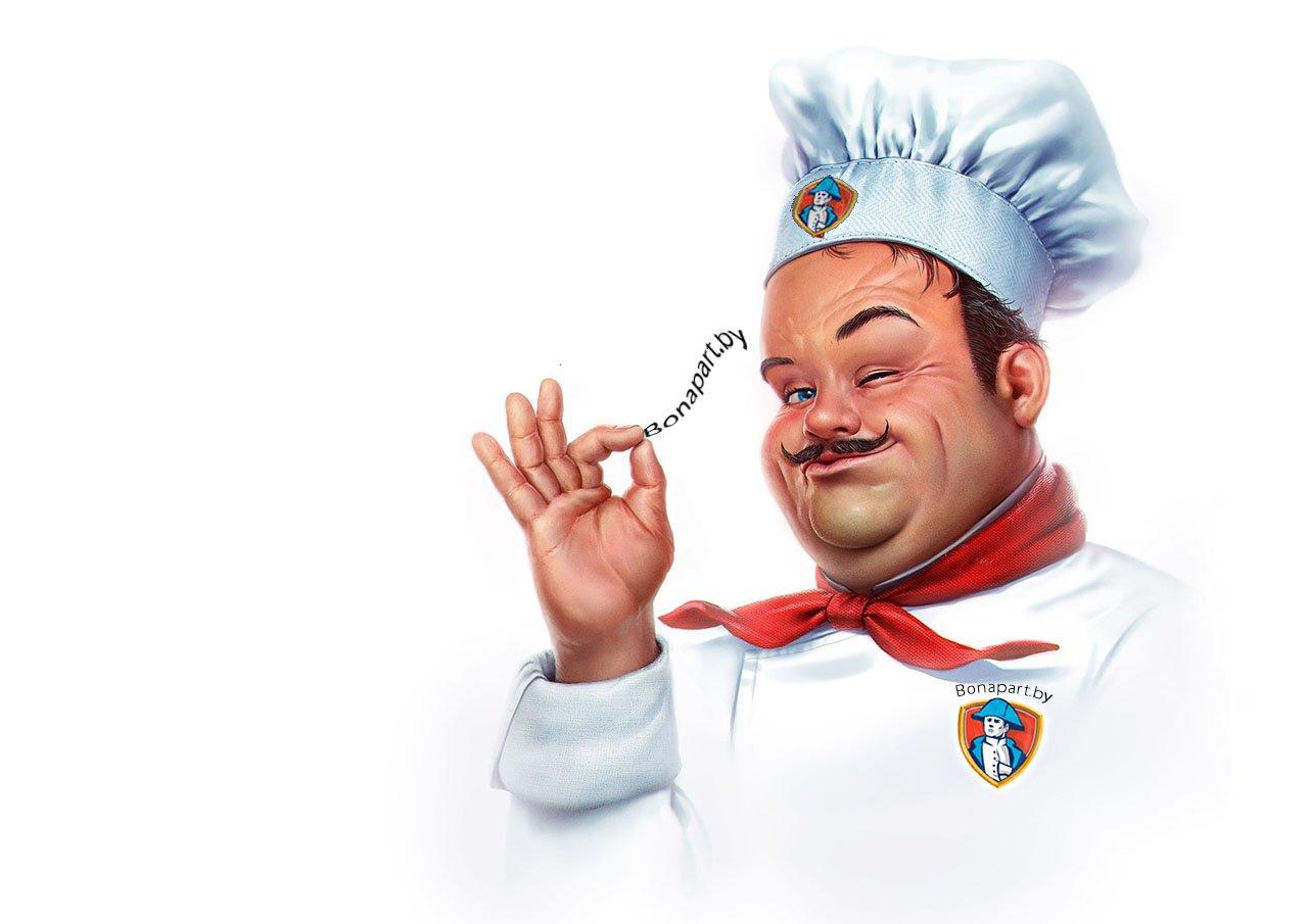 Шарж повар Бонапарт