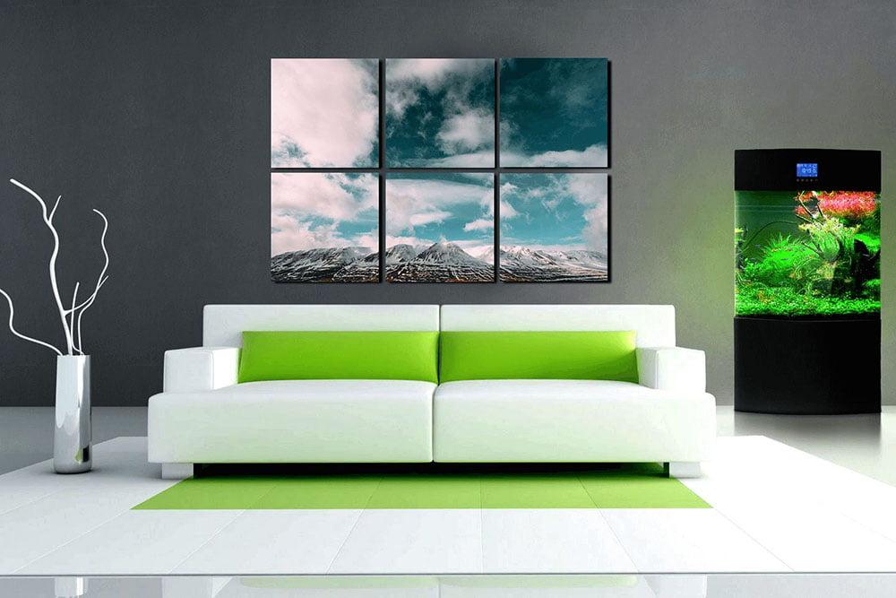 Модульная картина в гостиную